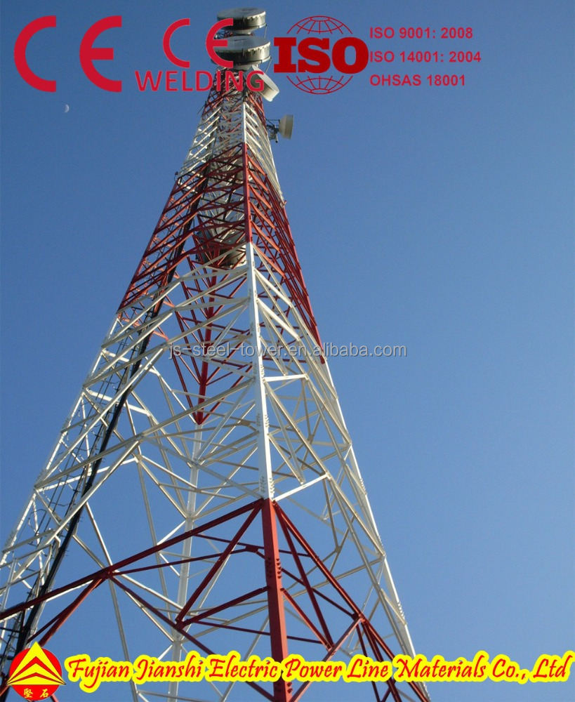 microwave telecommunication tower