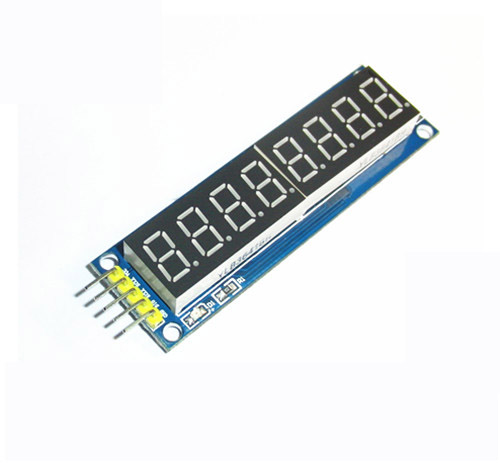 8 Bits 8Bit Digital Tube Red LED Display Module Four Serial for Ardu 595 Driver