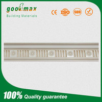 teak wood white gypsum moulding