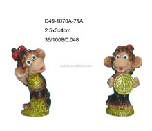 2016 polyresin small monkey for Russia