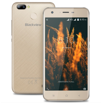 "Blackview A7 Pro 5.0"" HD 2GB 16GB 4G 2500 mAh Android 7.0 Smartphone MT6737 Quad Core Dual Rear Camera Cellphone"