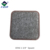 Furniture Caster Cups with Carpeted Bottom for Hard Floor Surfaces Round, Brown Color Felt Polishing Pad