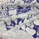 Wedding fabric custom color flat embroidery evening gown dress bridal veil lace
