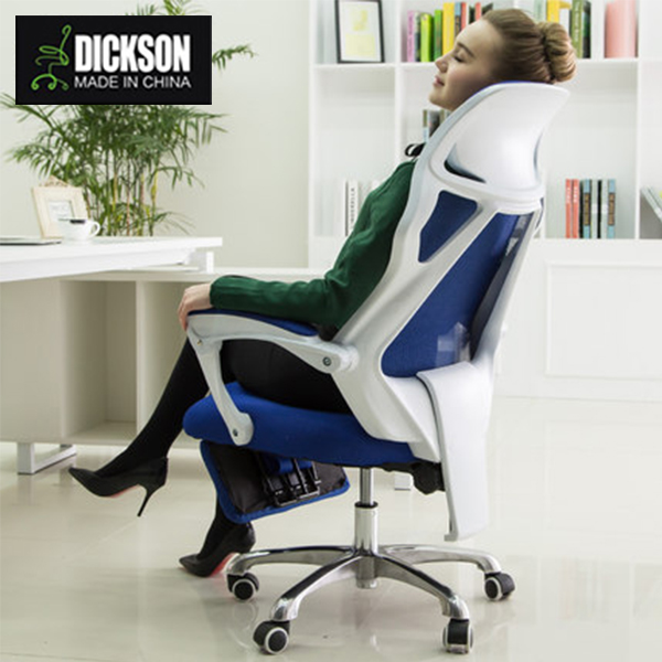 Dickson dedicated human design crystallization blue mesh office chair
