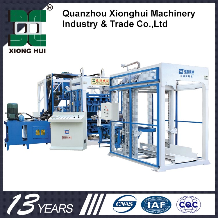 XH10-15 Good Price Automatic Used Color Block Machines For Sale Lime Sand Brick Making Machine
