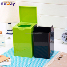 Fancy cheap recycle mini desk plastic dustbin sale