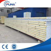 FUNA factory supply cheapest modular pu foam sandwich wall panel