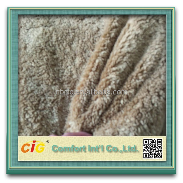 Wolf Fake Fur/Long Pile Fur Fabric For Sofa/Auto Seat/Garment