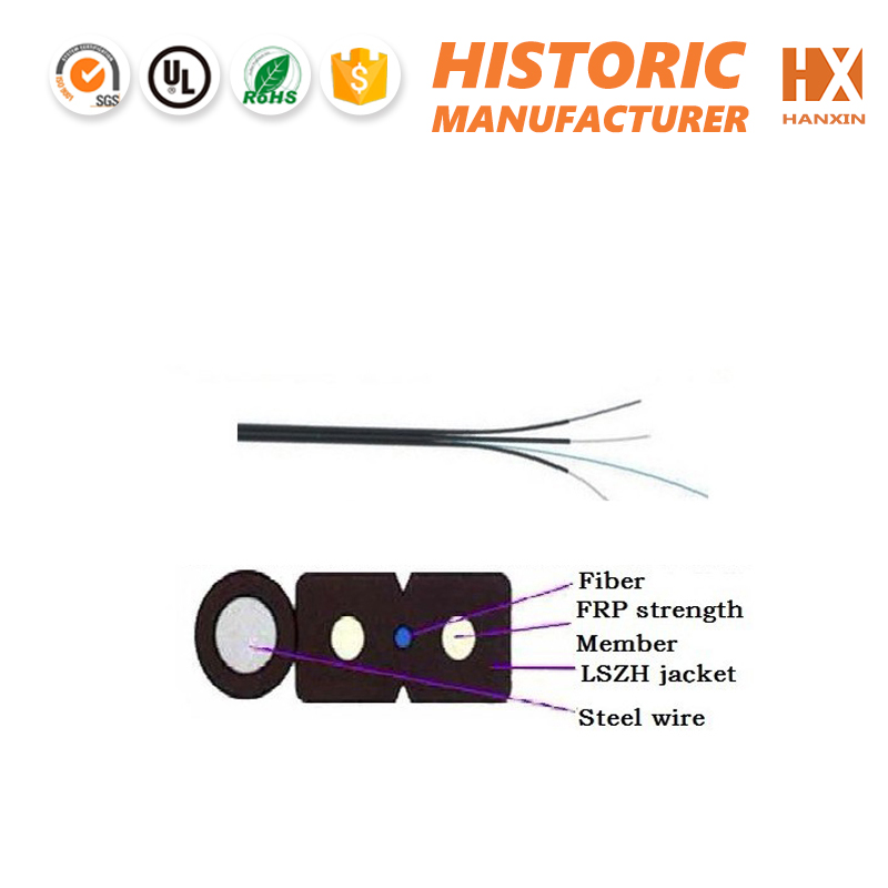 1 /2/4core network ftth optical cable
