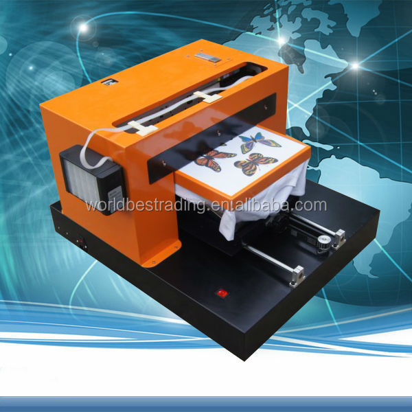 T-Shirt Printing Machine DX7 DX5 Head T-shirt DTG Printer