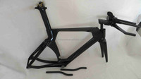 OEM Carbon fiber TT bicycle frame&700c Time trial bike frame,triathlon bike frame
