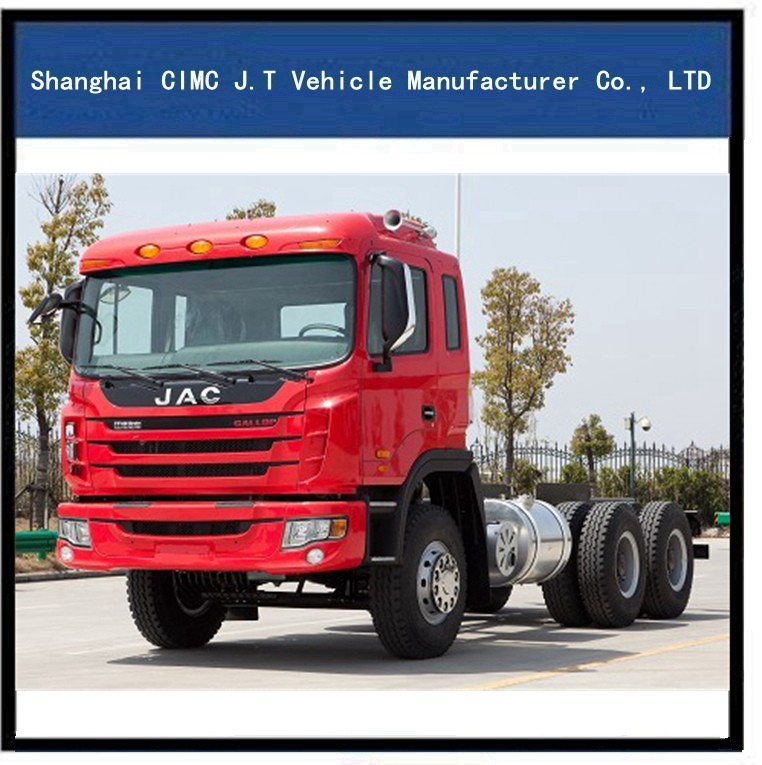 30 ton Customized JAC Mud Transport Dump Truck , CE / ISO / SGS , Model: CDT100