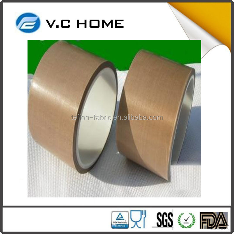 Hot Sale Glass Cloth Coated PTFE Teflon Adhesive Tape PTFE Coated Fiberglass Fabric