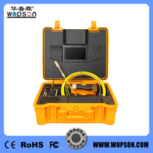 Soft Keyboard Water Well Inspection Camera of Pipe Camera Inspection System with 7 inch Monitor WPS-710DSK