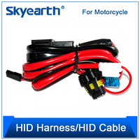 "10w motorcycle led lighting, headlights wiring harness, 4"" 12V/24V 35W hid tractor work light"