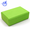 2015 manufacture fitness brick, recycled rubber block, custom logo new design yoga block