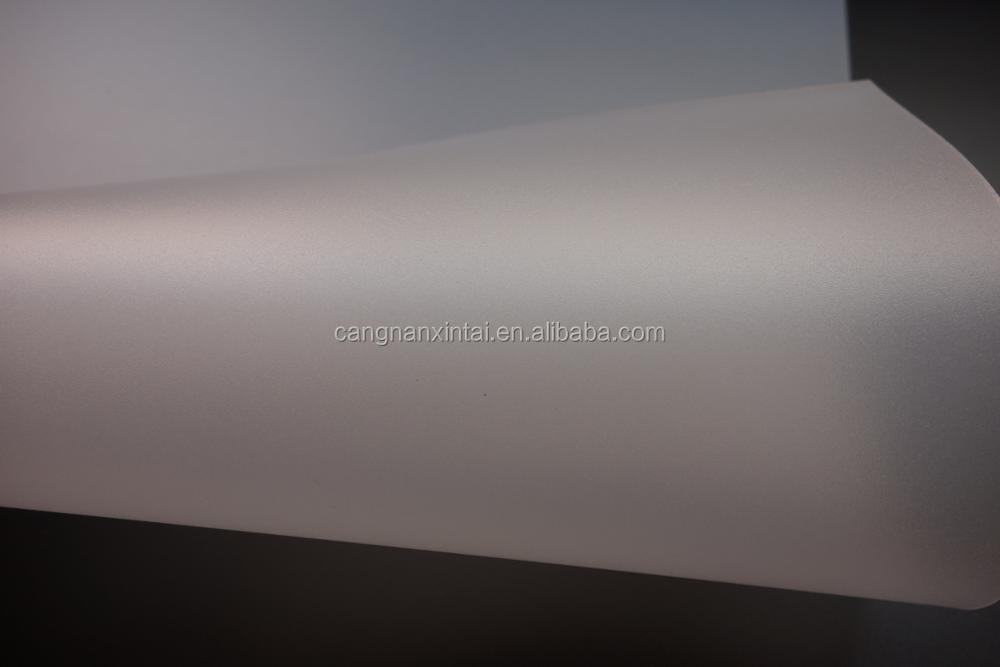Double matte pp polypropylene sheet 0.5mm