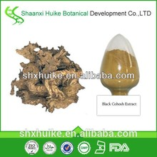 Nautral Pure Black cohosh extract Triterpene Glycosides 2.5%.5%.8%
