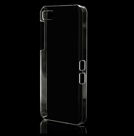 Super Thin Transparent Hard Case For Blackberry z10 Case,Slim Hard Crystal Case for BlackBerry Z10