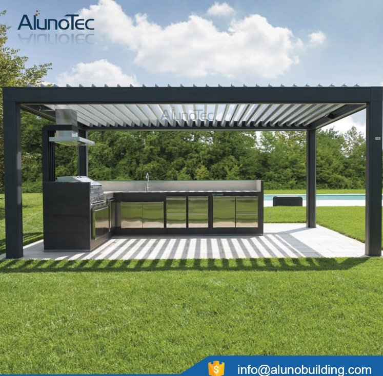 Waterproof Aluminum Pergola in Customized Size