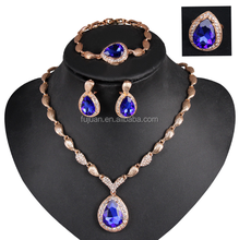 New Hot Crystal Rhinestone Fashion Jewelry Set Of 3 For Girls