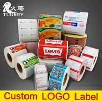 shelf label High quality price label roll supermarket scale labels