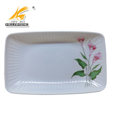 Food Container Inner Line Rectangle Long Sushi Plate