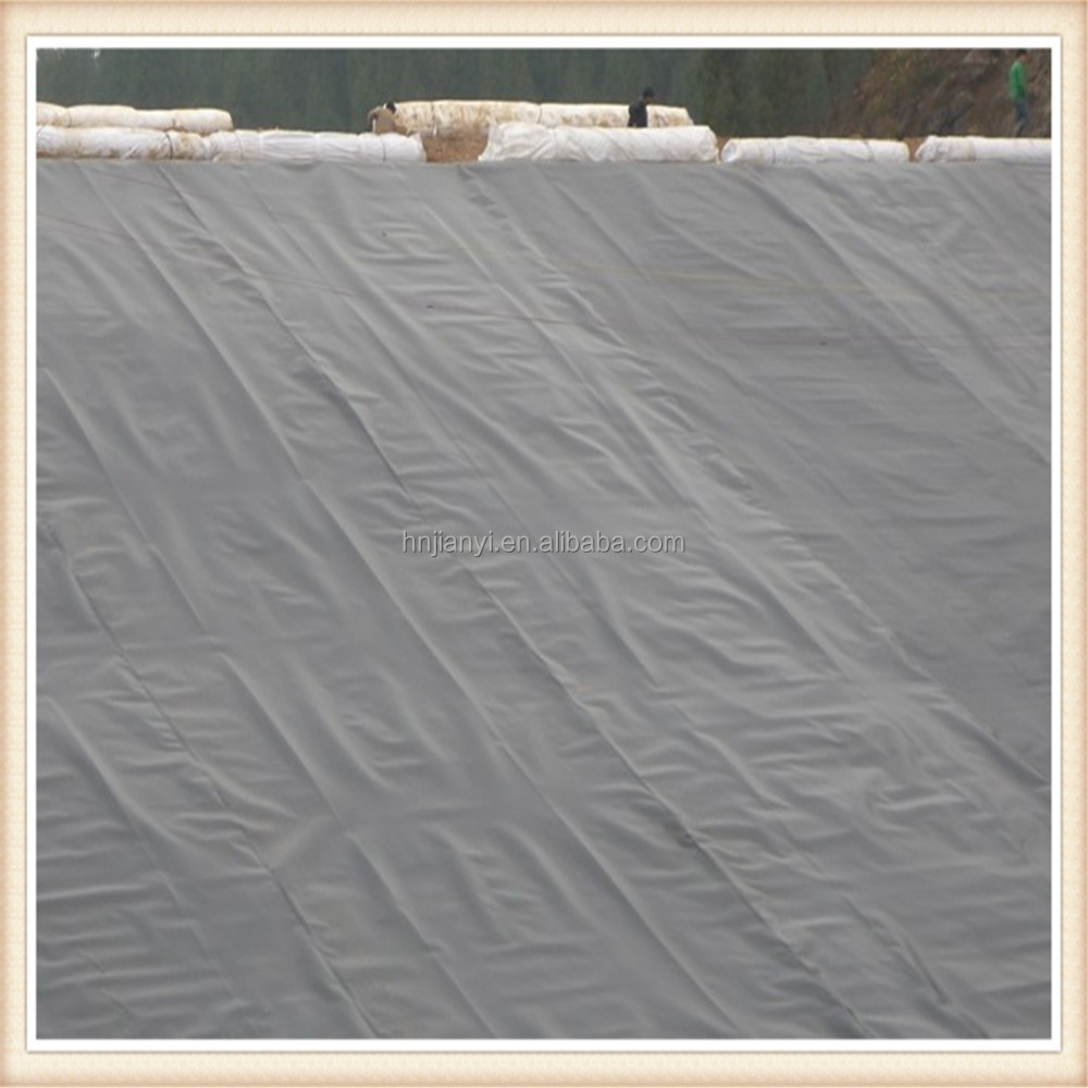hdpe geomembrane for lake liners / impermeable geomembrane roll / fish farm geomembrane