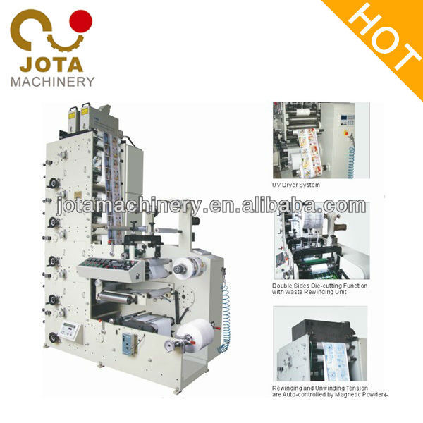 Automatic Label Four Color Offset Printing Machine Price