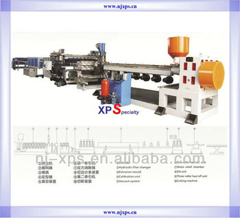 2016 new products for Plastic Extruded Polypropyene PP Hollow Profile Sheet Extrusion ( Extruder Production ) Machine Line