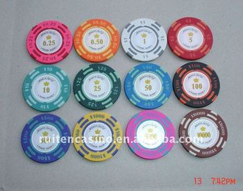 14g US value clay chip casino chip poker chip