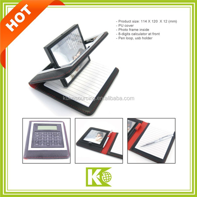 Multi function Notebook with Calculator