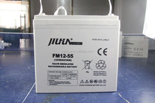 12V 55AH deep cycle gel battery with good quality and available price