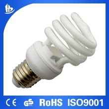 T2 13W half spiral energy saving light bulb