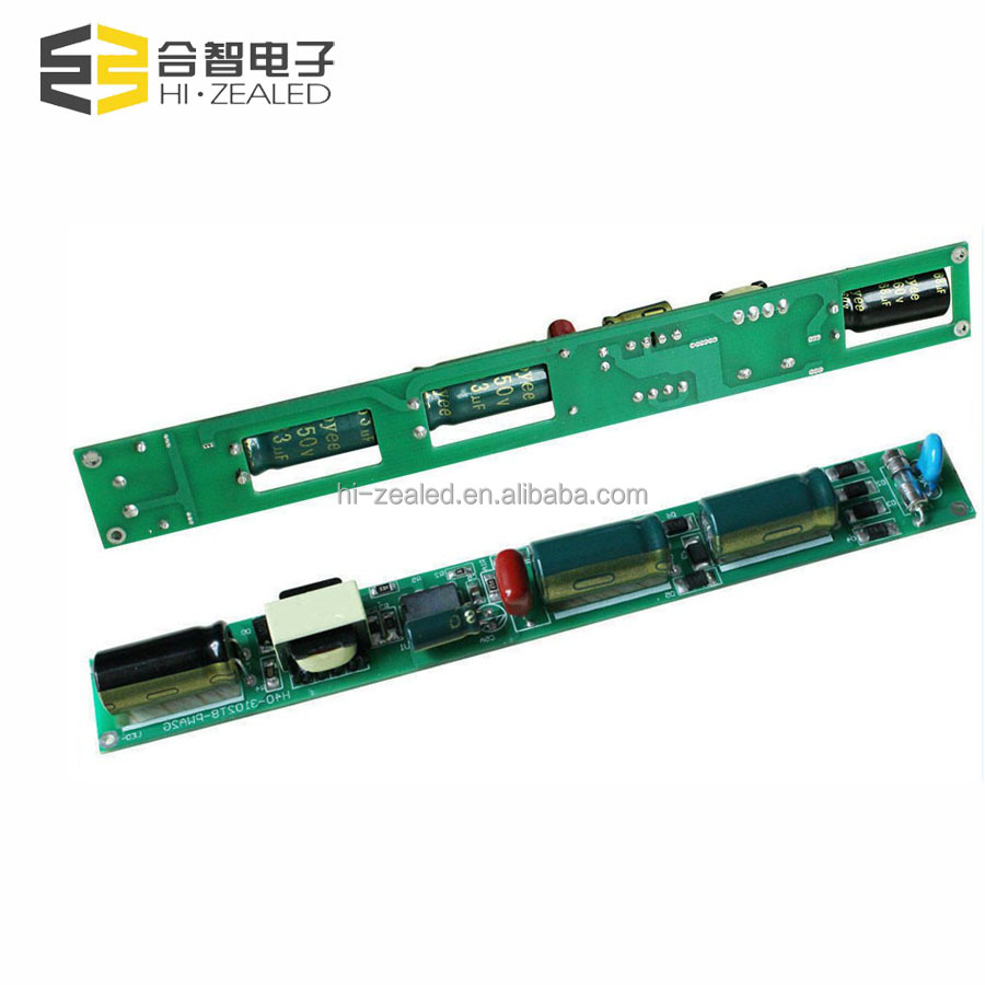 competitive price 8w-25w output 27-80v 280ma wide voltage flick free led tube driver for t8 t10 with 3 years warranty