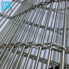 architectural drapery stainless steel mesh for room divider