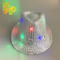 Event Party Supplies LED Light Up Fedora Hat