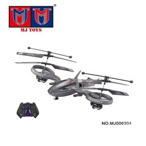 Model toys 4ch plastic airplane rc helicopter with gyro