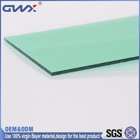 Excellent Weather Ability 10mm Awing Material Price for PC Solid Sheet