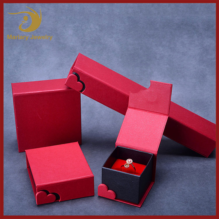Wholesale Handmade Chinese Unique Kraft Paper Jewelry Package Box Making Supplies