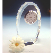China new product crystal funny desk clocks for gift