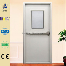 Zhejiang AFOL 2014 hot sell factory direct sale emergency exit door with push bar and window