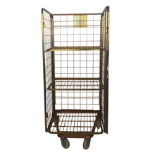 Rolling workshop welded wire security cage