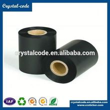Barecode textile wash care printer resin near edge thermal transfer ribbon