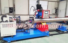 Automatic Pipe Flange Two Spot Welding machine prices