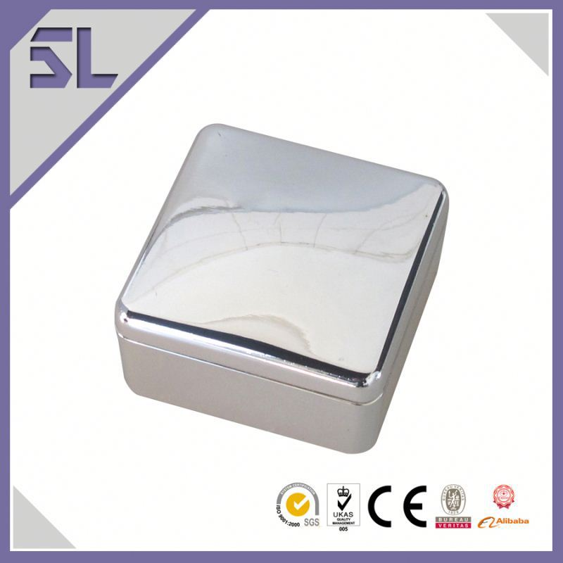 Made In Thailand Products Engravable Square Jewelry Box Cheap Plain Jewellery Box Wedding Gift trinket Box