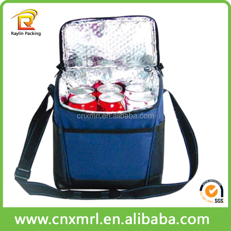 Thermal lined cooler ice drink bags for hot and cold thermal food bag