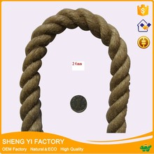 Factory price 100% nature color jute twist rope