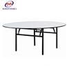 Commercial used modern folding round French wedding table