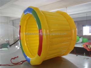 Lake Pool Inflatable Roller Water Games / Floating Water Toys For Fun